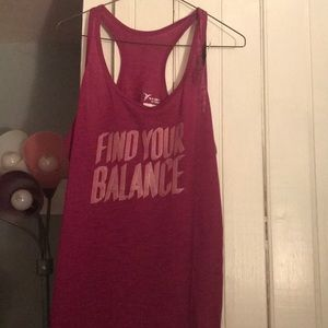 Old navy active graphic racerback performance tank